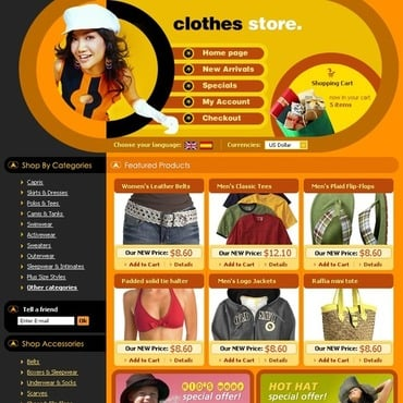 Apparel OsCommerce Template