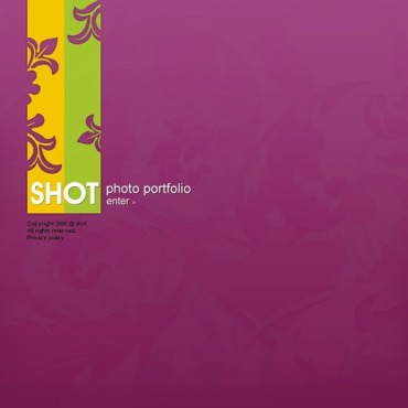 Photographer Portfolio Flash Template