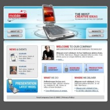 Mobile Company SWiSH Template