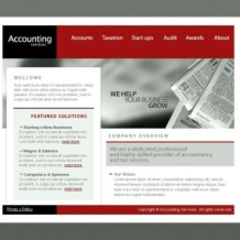 Accounting Website SWiSH Template