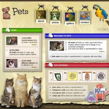 Animals & Pets SWiSH Template