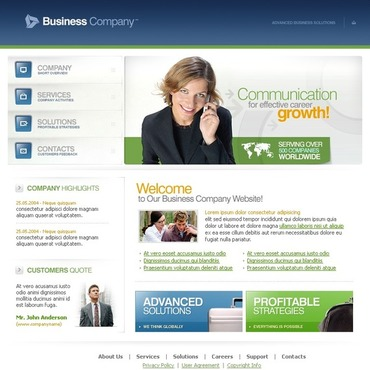 Business SWiSH Template