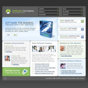 Software Company SWiSH Template