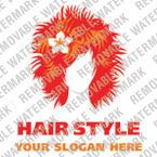 Hair Salon Logo Template