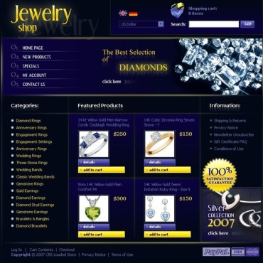 Jewelry CRE Loaded Template