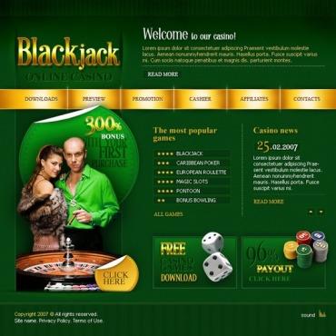 Online Casino Flash Template