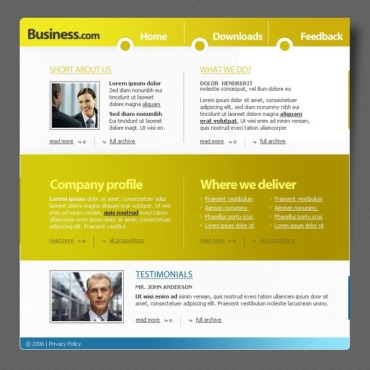 Business PHP-Nuke Template