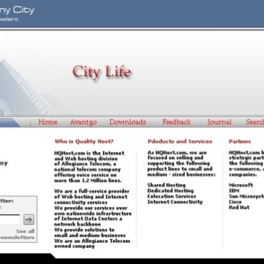 City Portal PHP-Nuke Template
