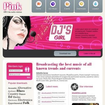 Radio Website Website Template