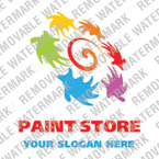 Painting Company Logo Template