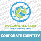 Volleyball Corporate Identity Template