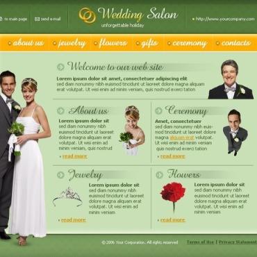 Wedding Shop SWiSH Template