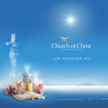 Christian Flash Template