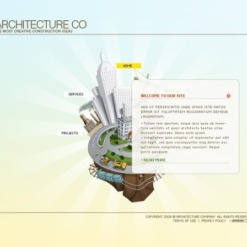 Architecture Flash Template