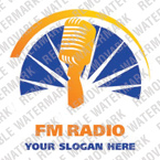 Radio Website Logo Template