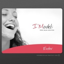 Model Agency Flash Template