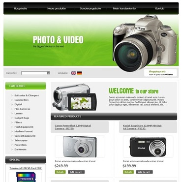 Video Store CRE Loaded Template