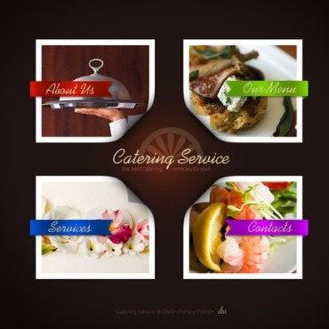 Catering Flash Template