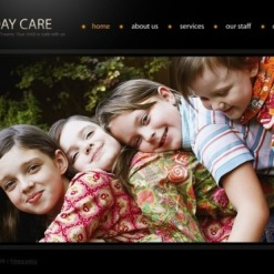 Day Care Flash Template