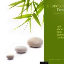 Landscape Design SWiSH Template