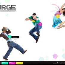 Dance Studio Flash Template