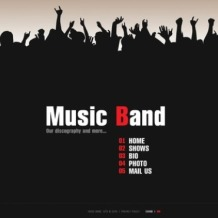 Music Band Flash Template