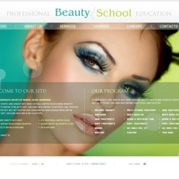 Beauty School Flash Template