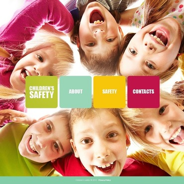 Child Charity Drupal Template