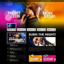 Night Club Turnkey Website 2.0