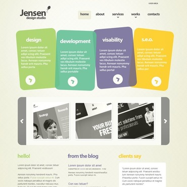 Web Design Drupal Template