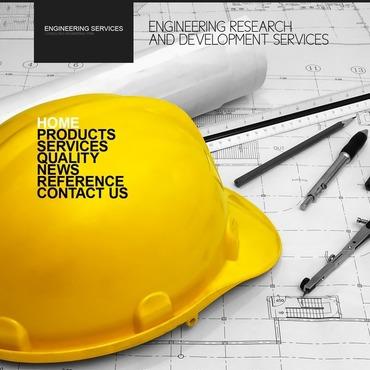 Civil Engineering Website Template #31014