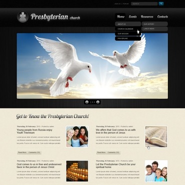 Presbyterian WordPress Theme