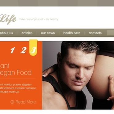 Pregnancy Website Template