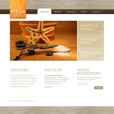 Sauna Website Template