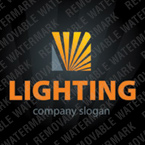 Lighting & Electricity Logo Template