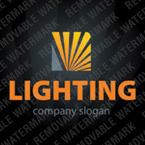 Lighting & Electricity Logo Template