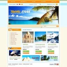 Travel Store OsCommerce Template