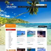 Travel Agency ZenCart Template