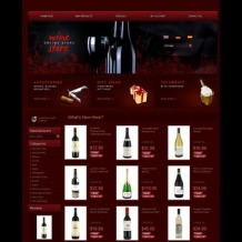 Wine OsCommerce Template