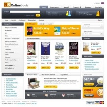 Book Store ZenCart Template