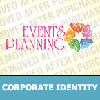 Event Planner Corporate Identity Template