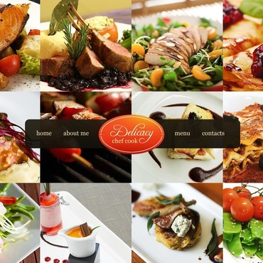 Chef Website Template