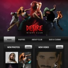 Night Club Facebook Template