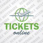 Airline Tickets Logo Template