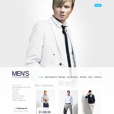 Apparel ZenCart Template
