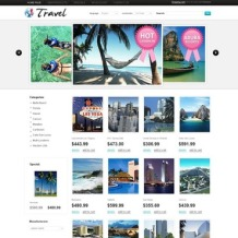 Travel Agency OsCommerce Template