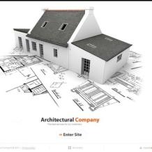 Construction Company Silverlight Template