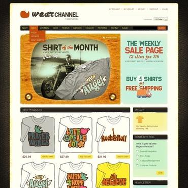 T-shirt Shop Magento Theme