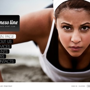 Fitness Flash Template
