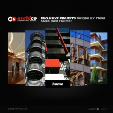 Architecture Silverlight Template